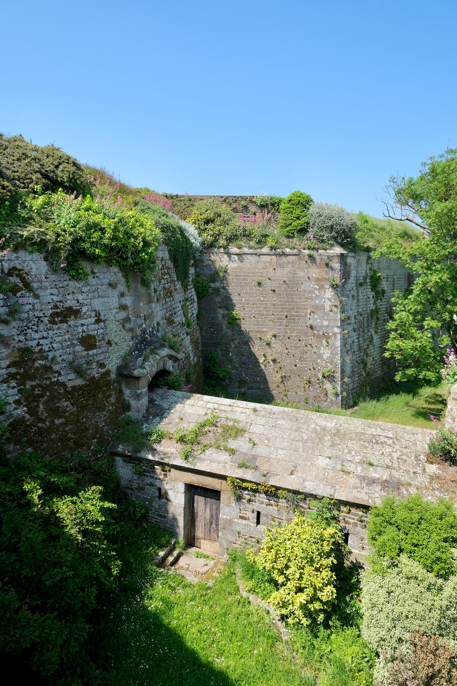 Granville fortifications