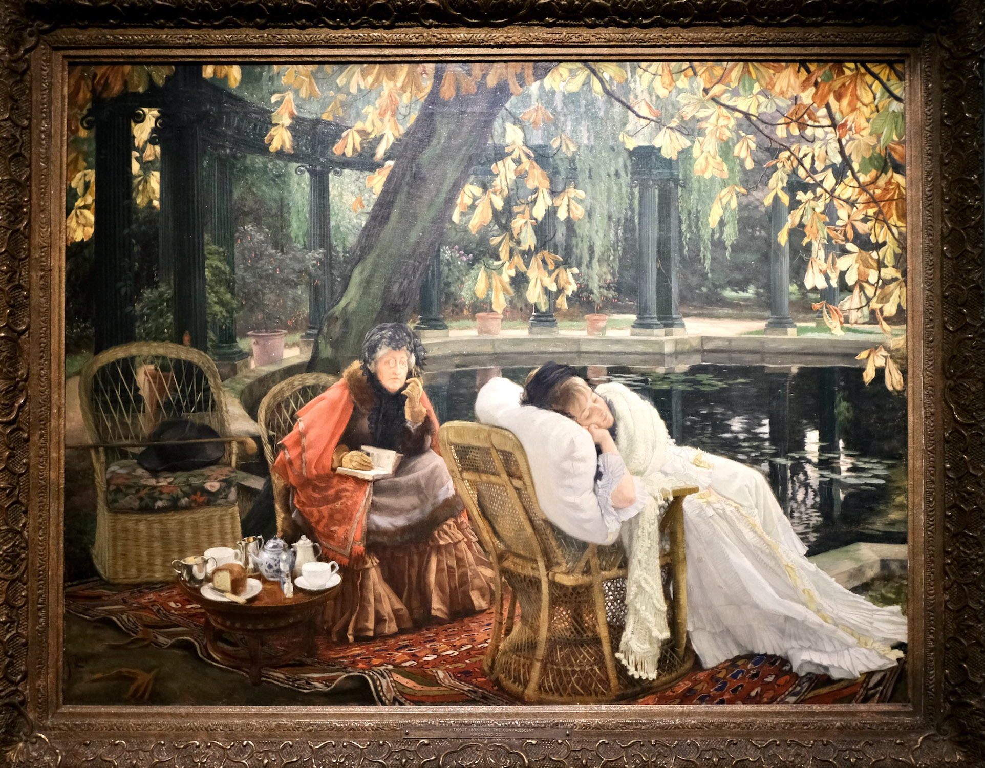 James Tissot sleeping picnic