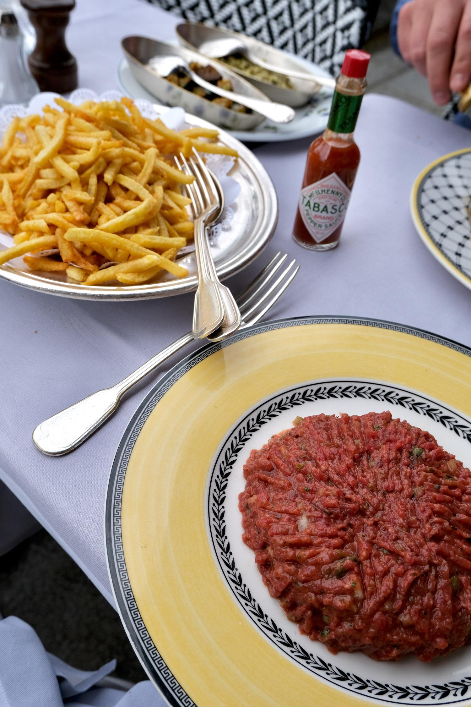 Le Voltaire lunch
