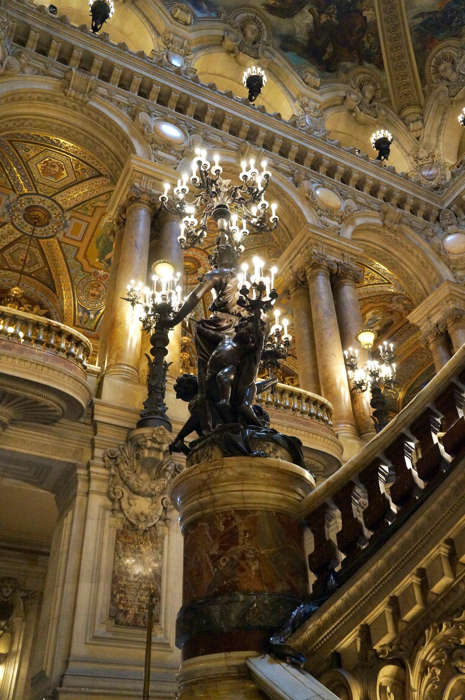 Palais Garnier Virtual Tour Staircase detail