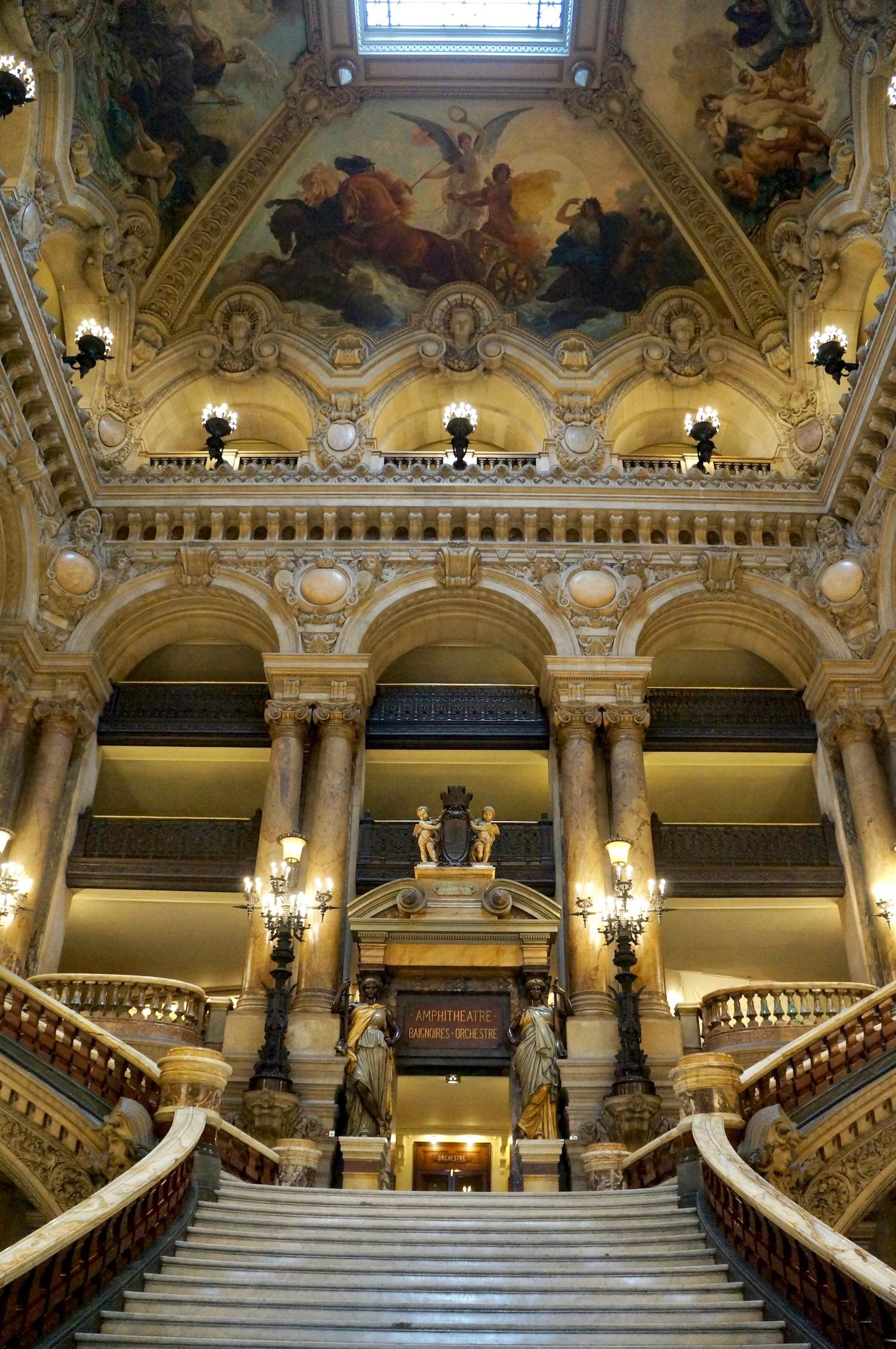 Palais Garnier Virtual Tour Staircase