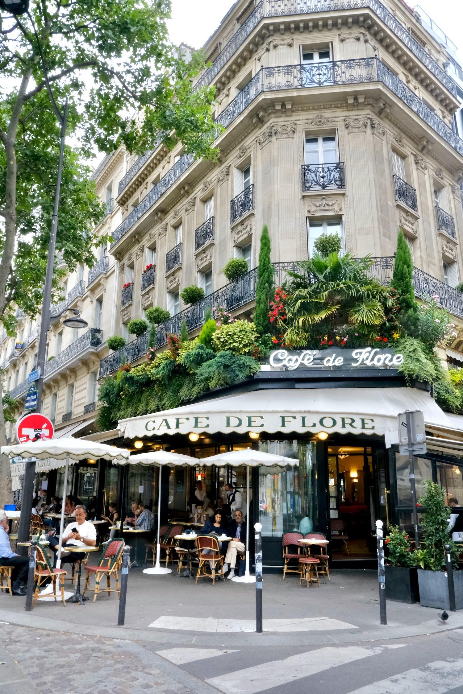 Café de Flore falling back in love with Paris