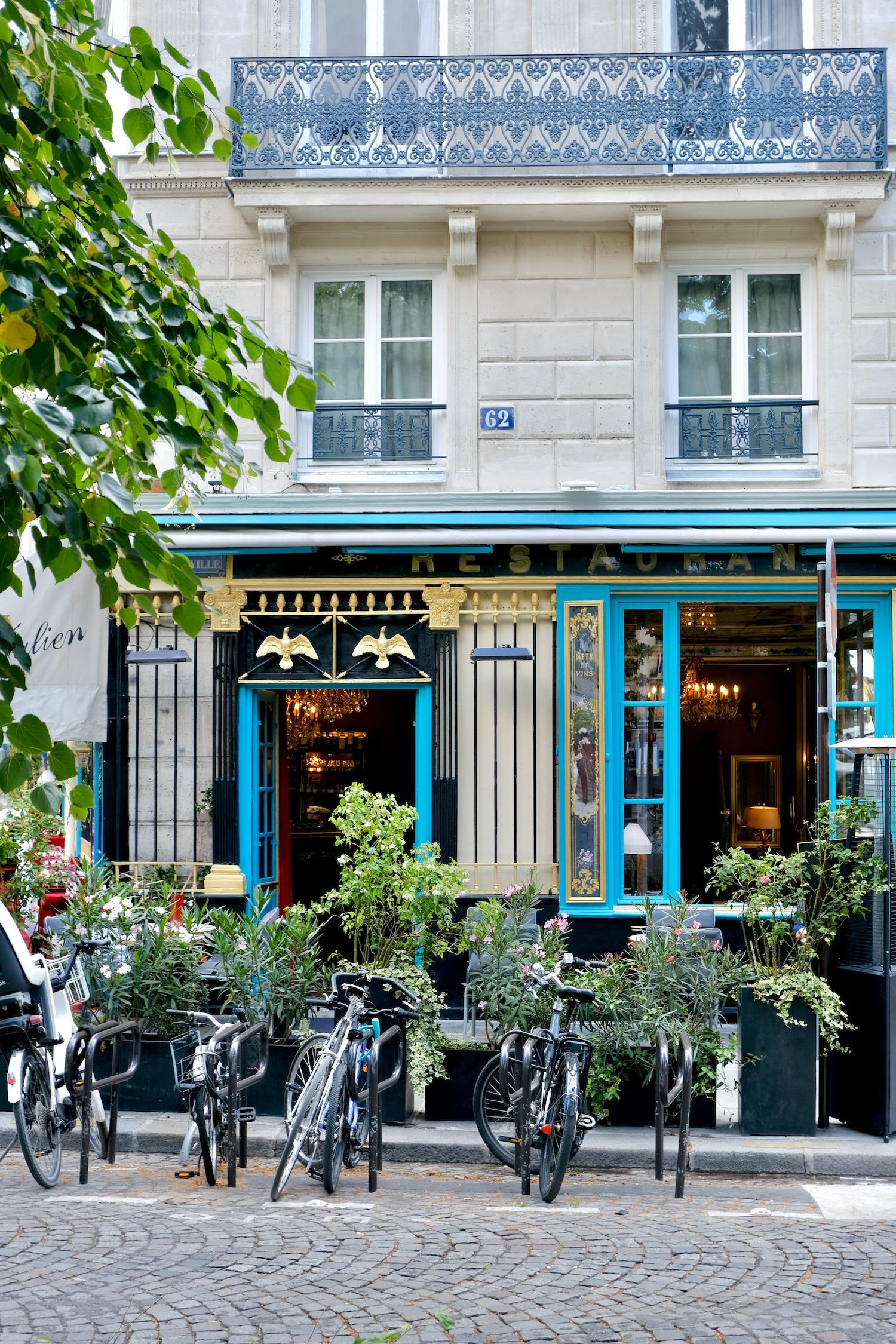 Falling back in love with Paris Chez Julien
