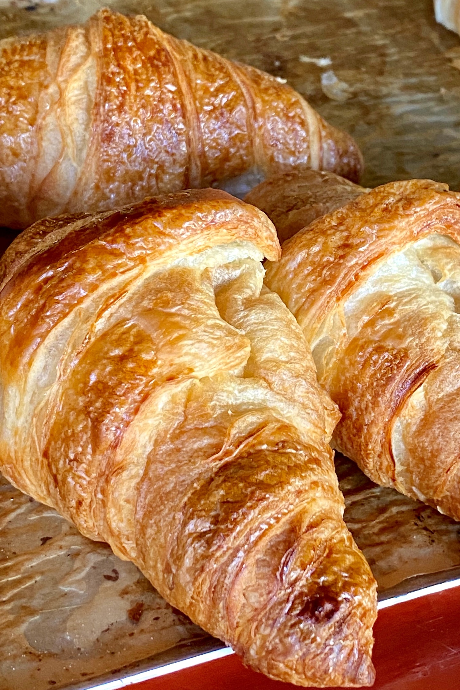french breakfast croissants
