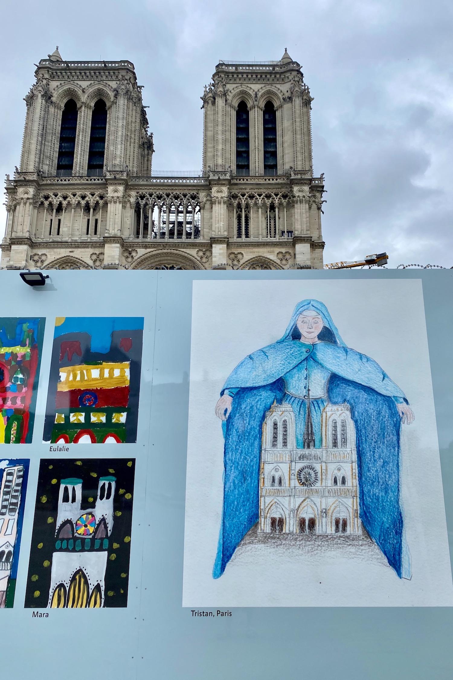 Notre Dame children's art exhibit