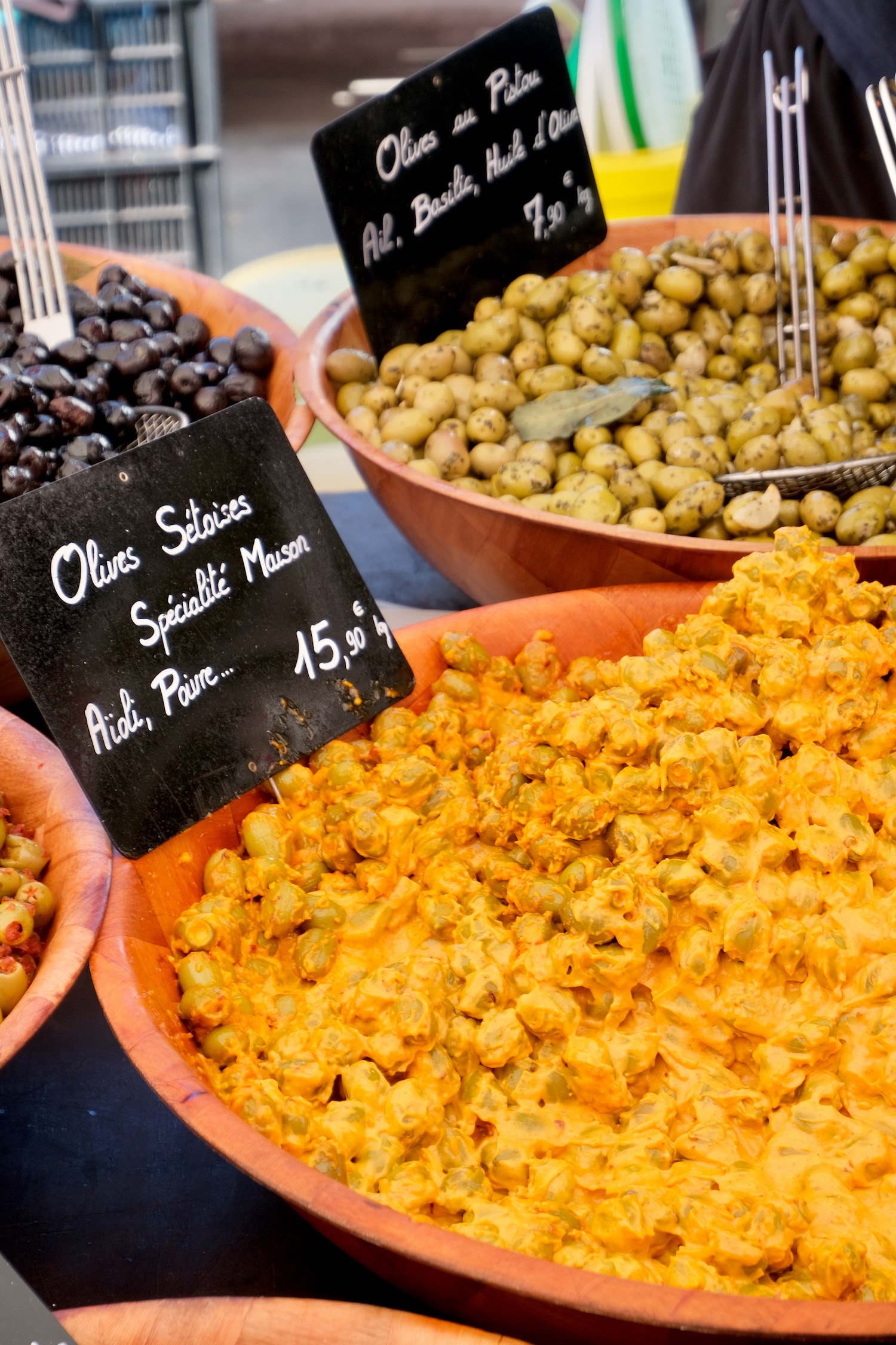 Olives Sétoises