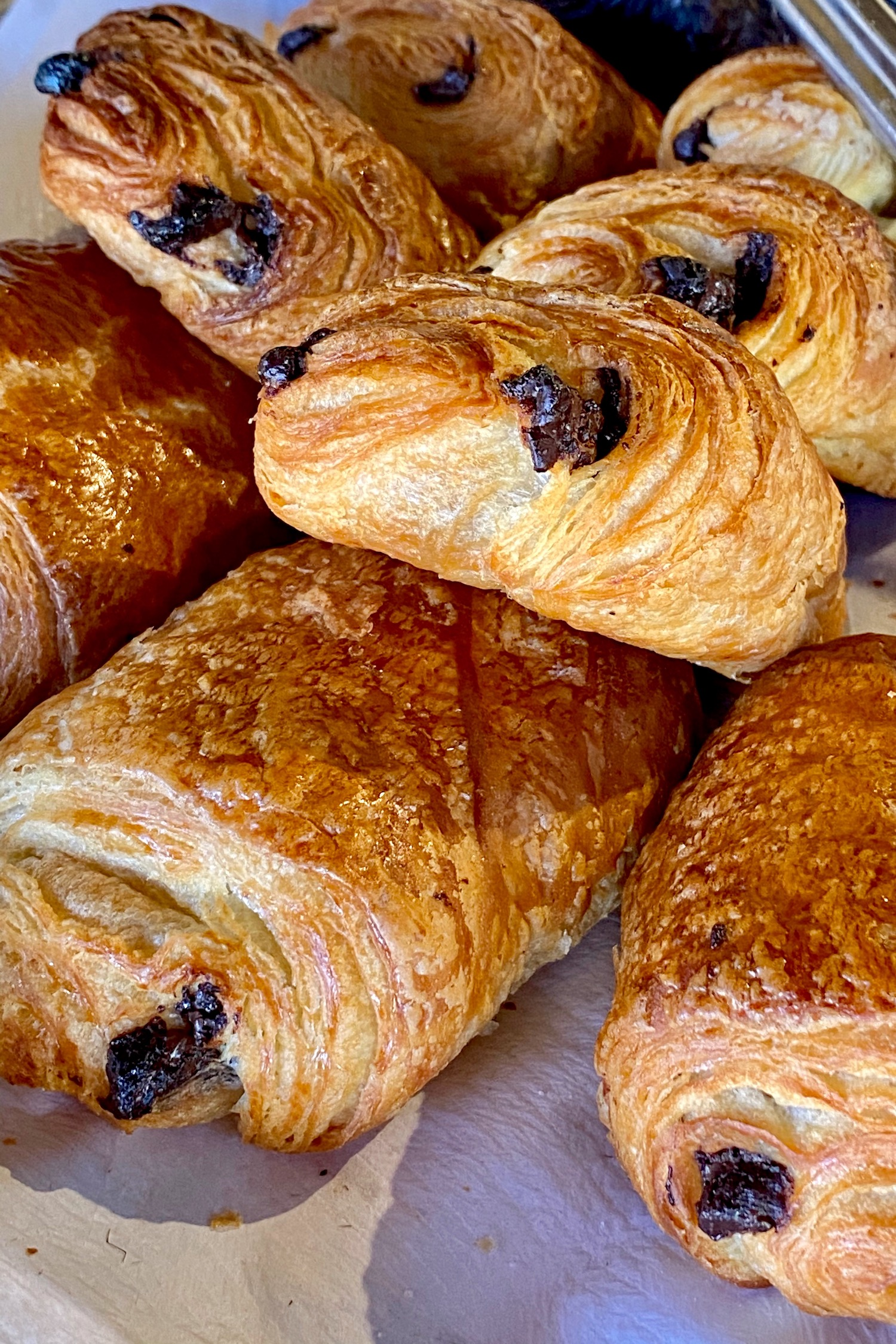 French Breakfast pain au chocolat