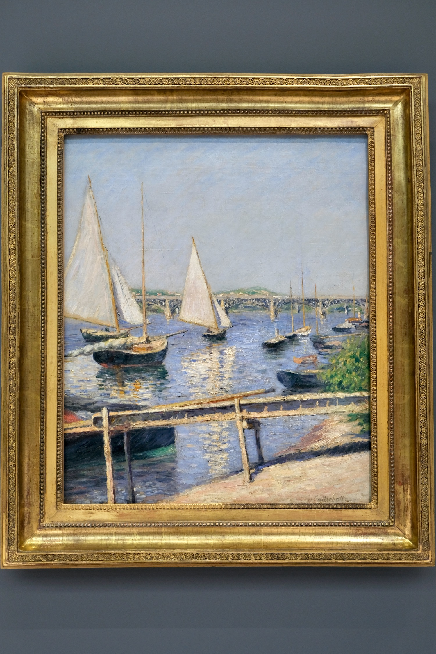 Caillebotte Sailboats