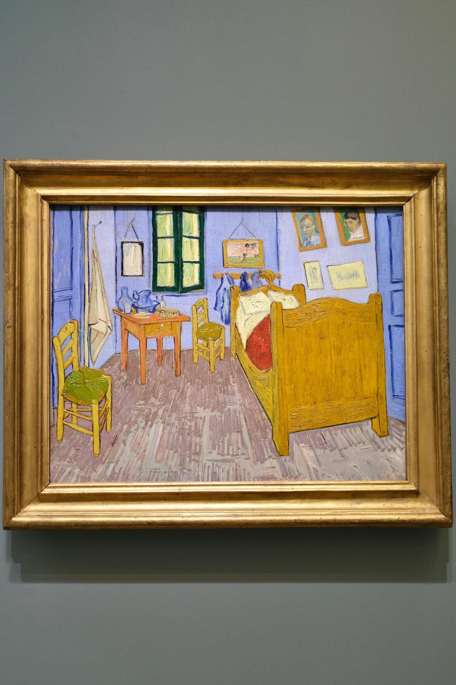 Van Gogh bedroom Musée d'Orsay