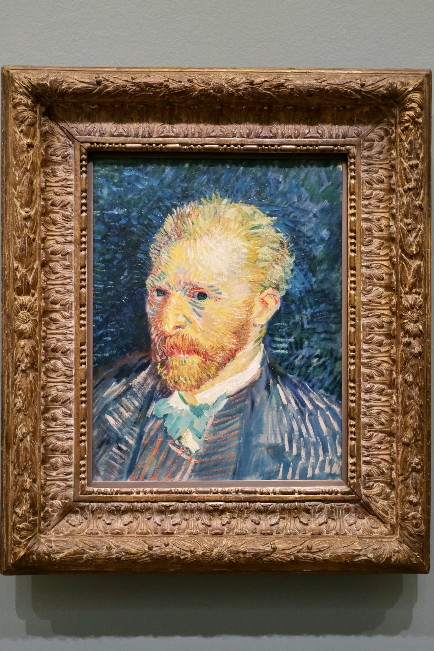 Van Gogh post-impressionism self-portrait Musée d'Orsay