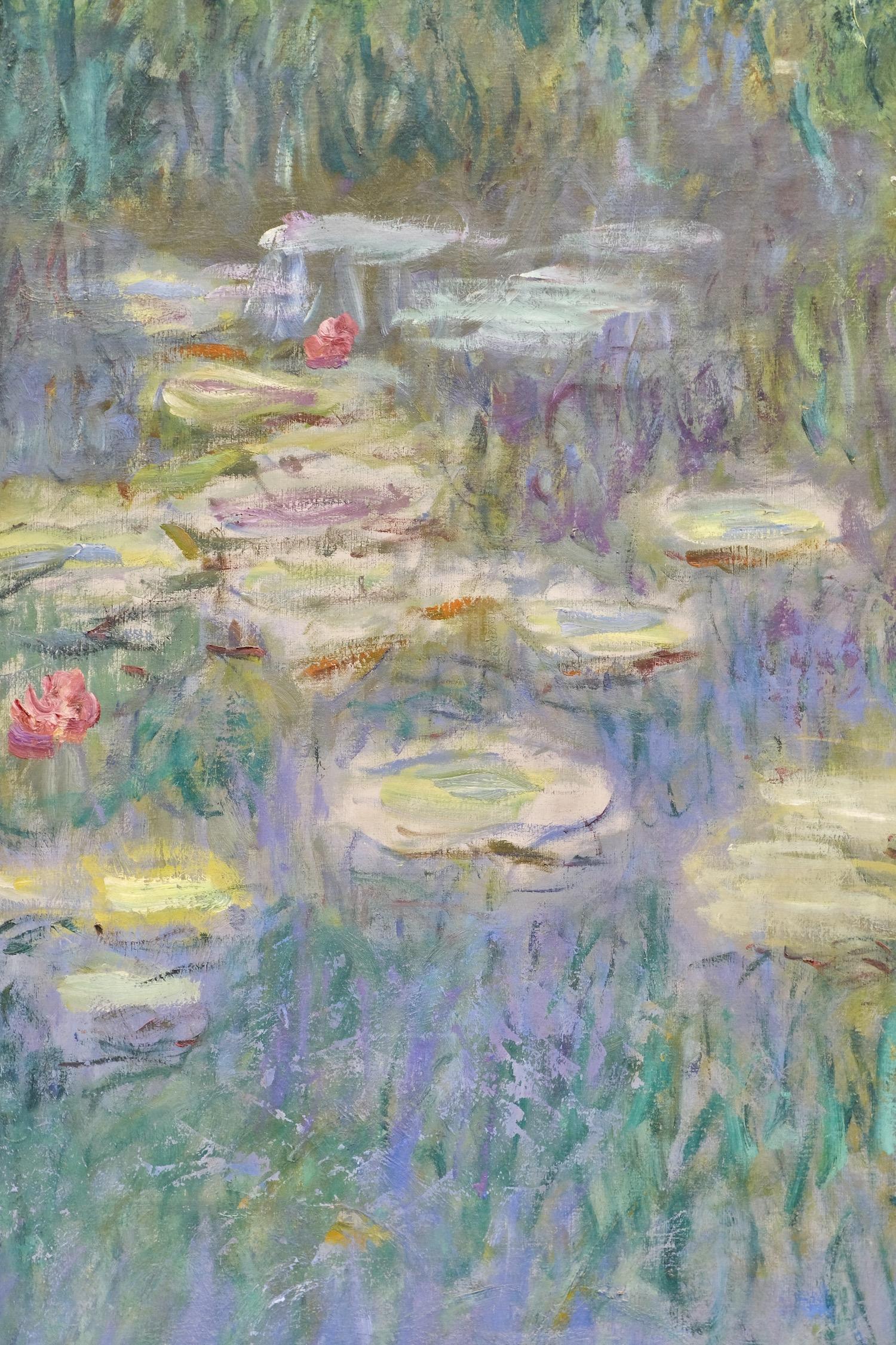 Monet's brushstrokes