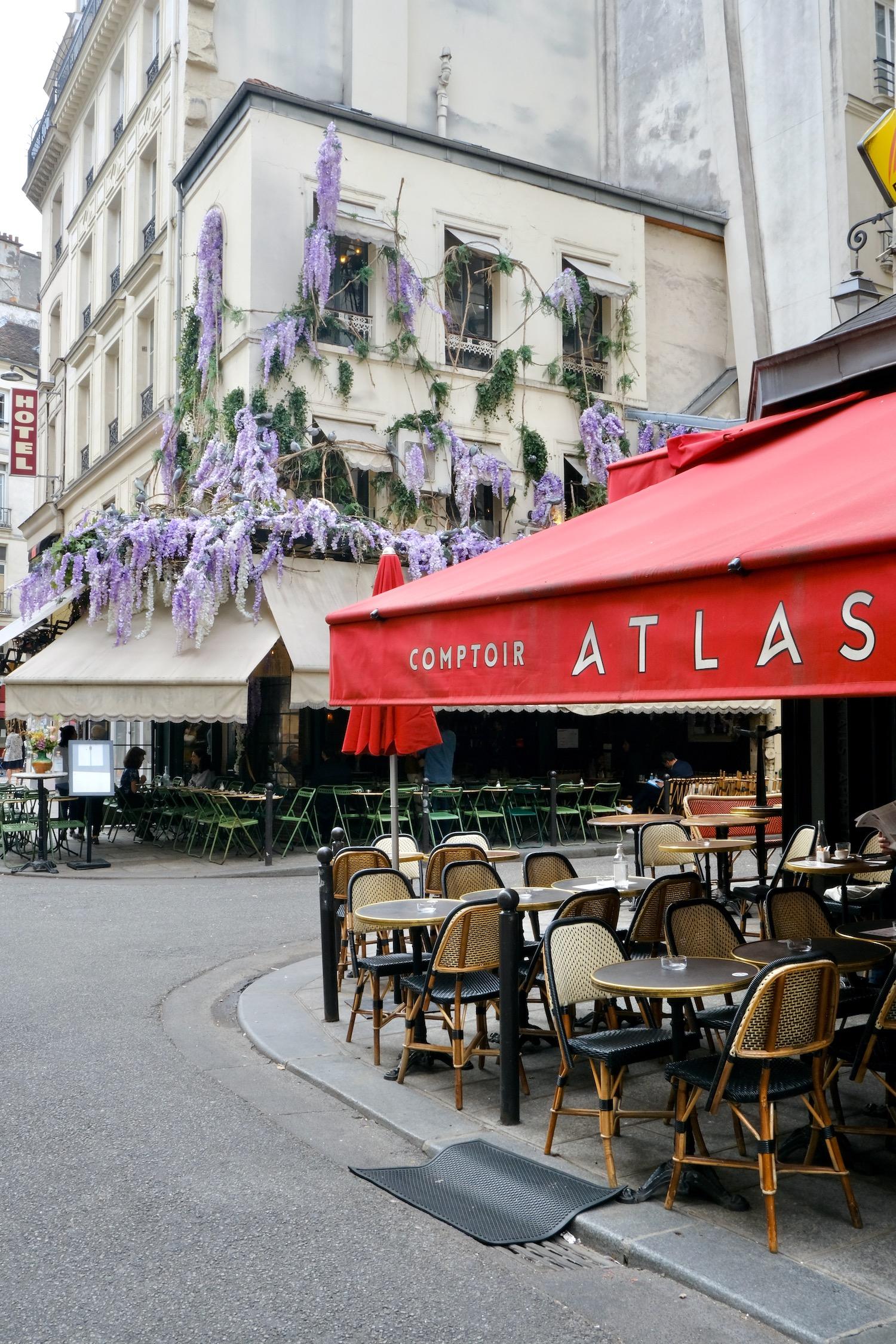 Rue de Buci cafés