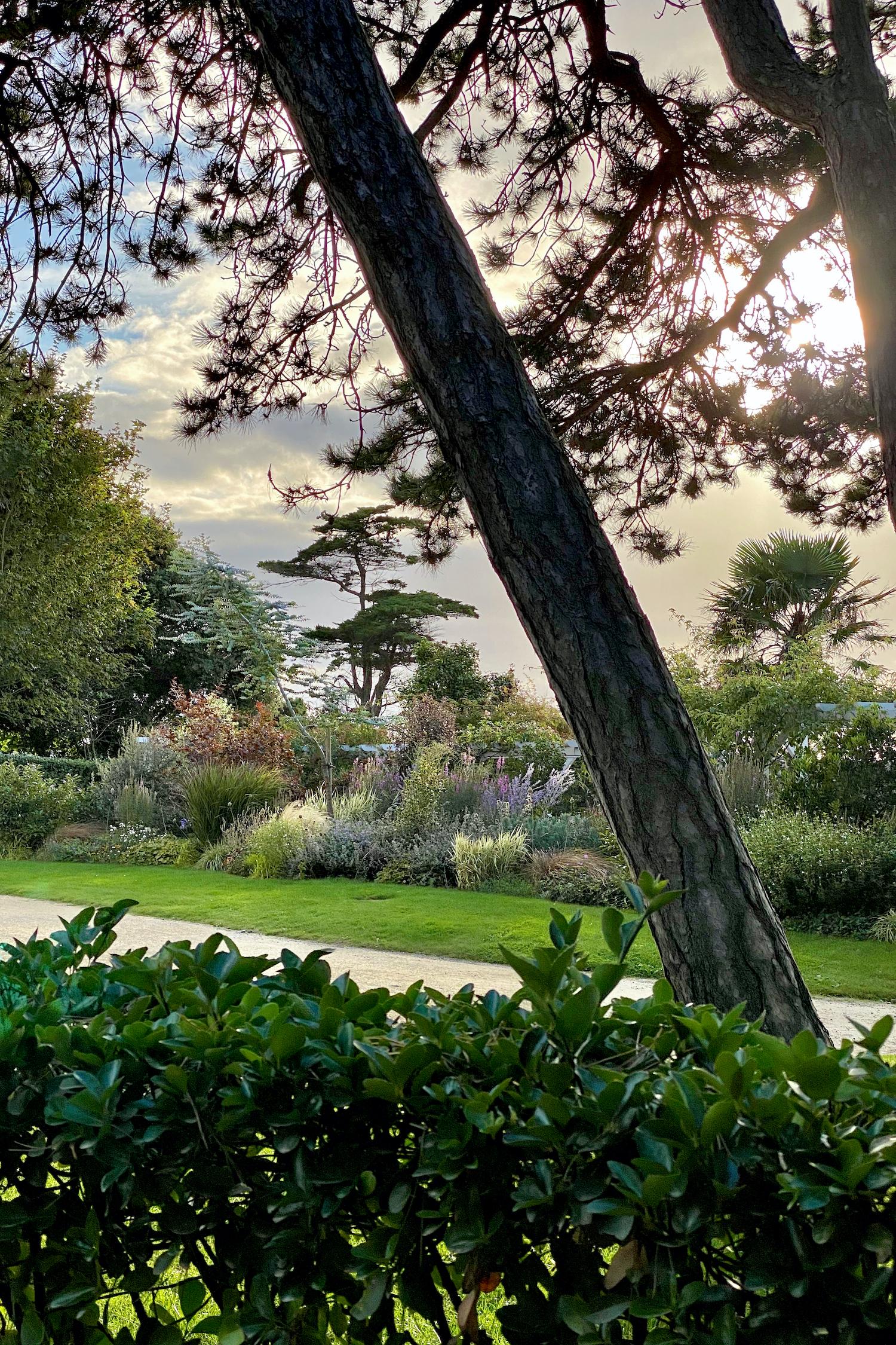 Musée Christian Dior garden