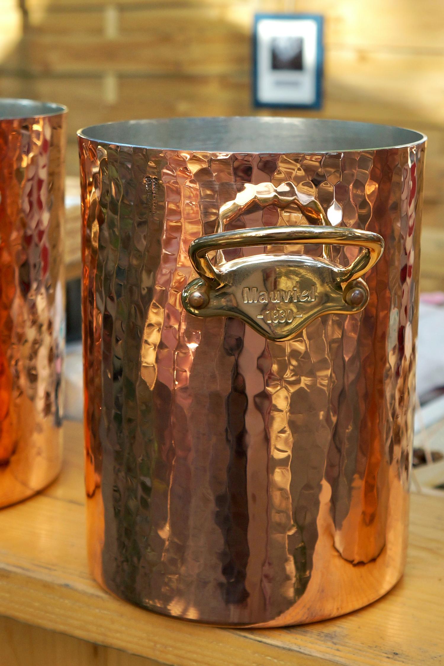 Mauviel 1830 copper ice bucket