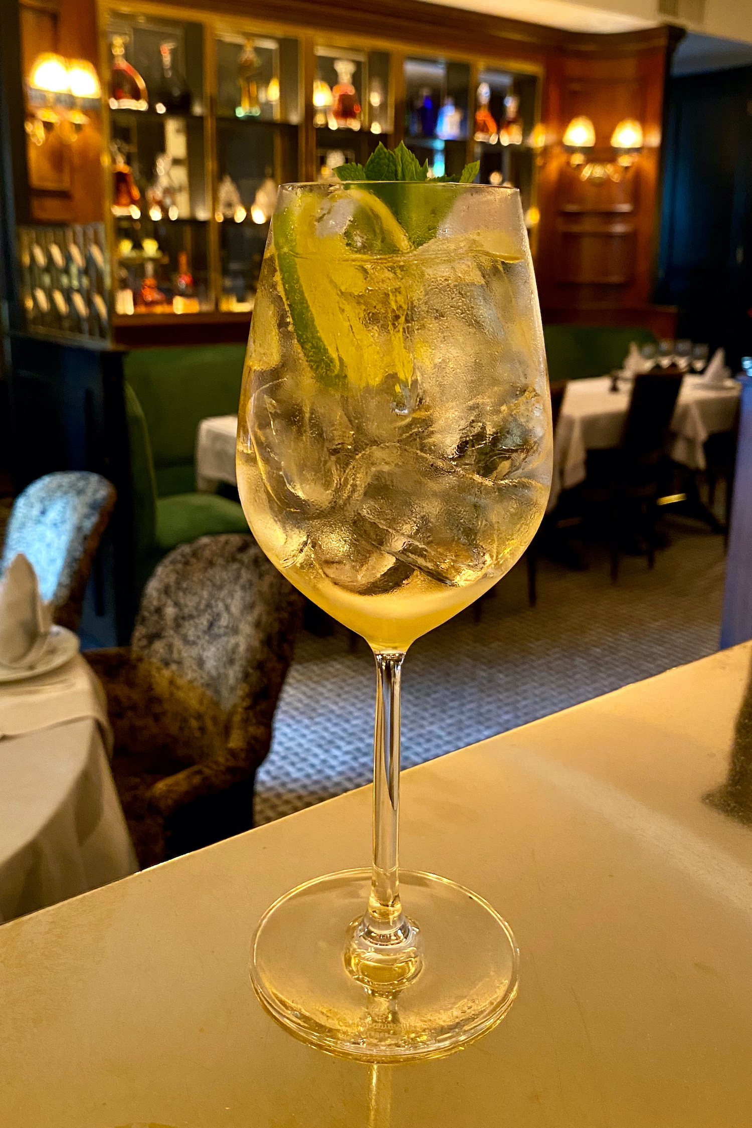 Hugo Spritz: could be made with champagne (see the Louis Vuitton Reims City Guide)
