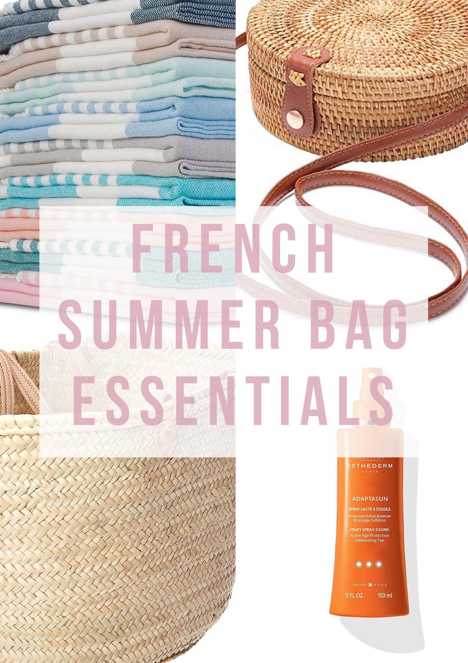 French summer bag essentials