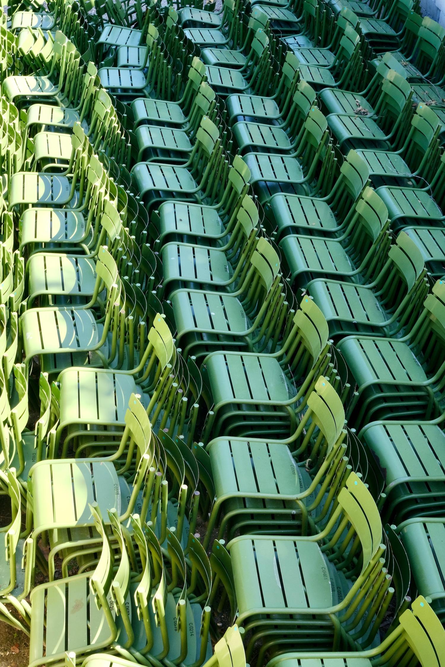 Paris green chair