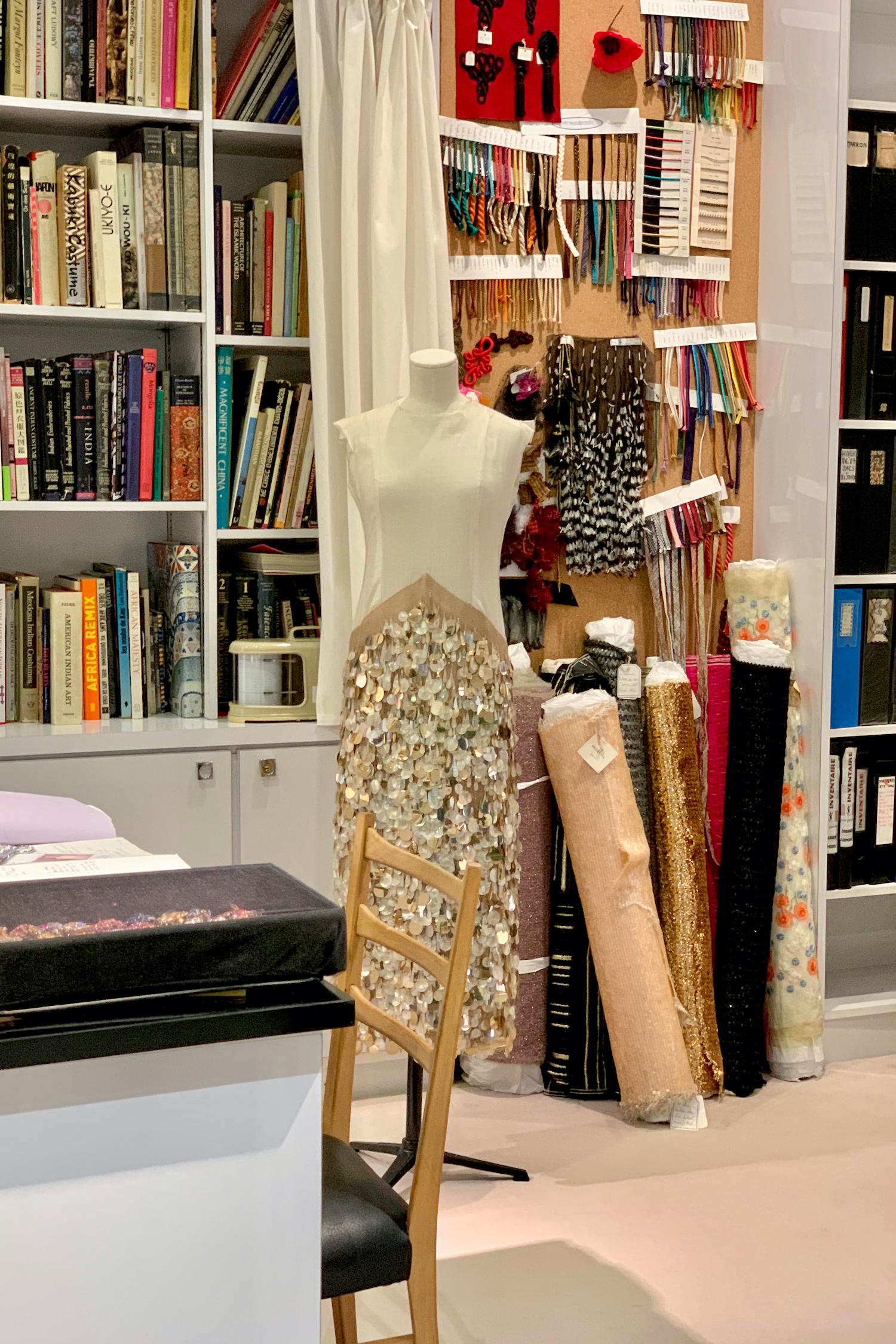 Musée Yves Saint Laurent Restoration Atelier visit