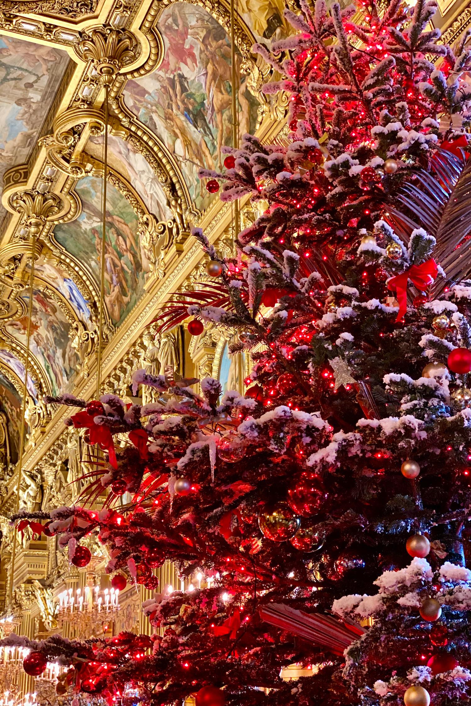 Two years of living in Paris December Palais Garnier
