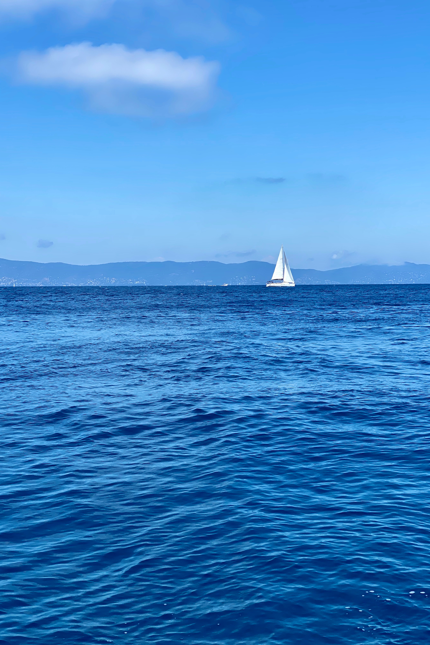 Port Cros sailboat