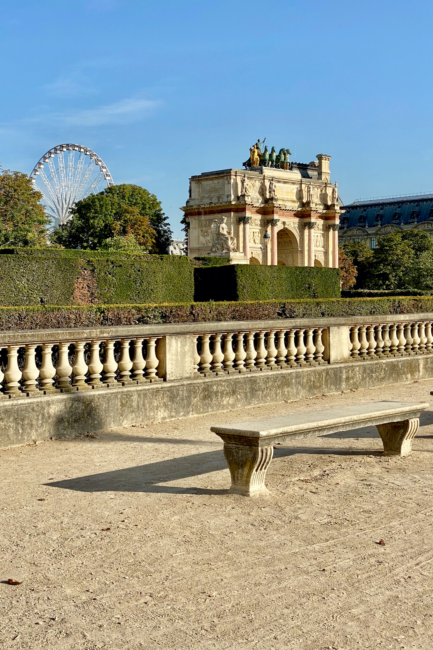 Weekend Links Week Ten Tuileries Ferris Wheel