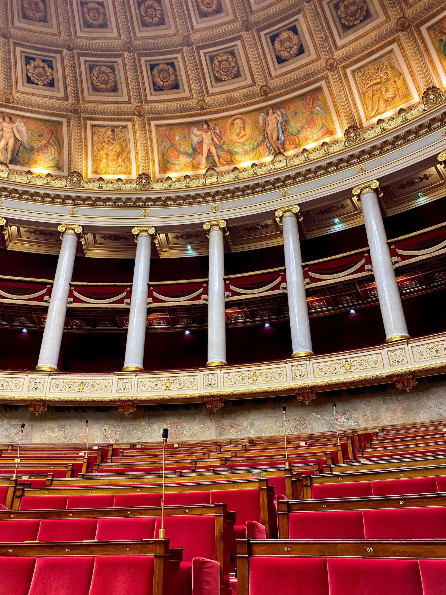 Assemblée nationale hemisphere heritage days visit