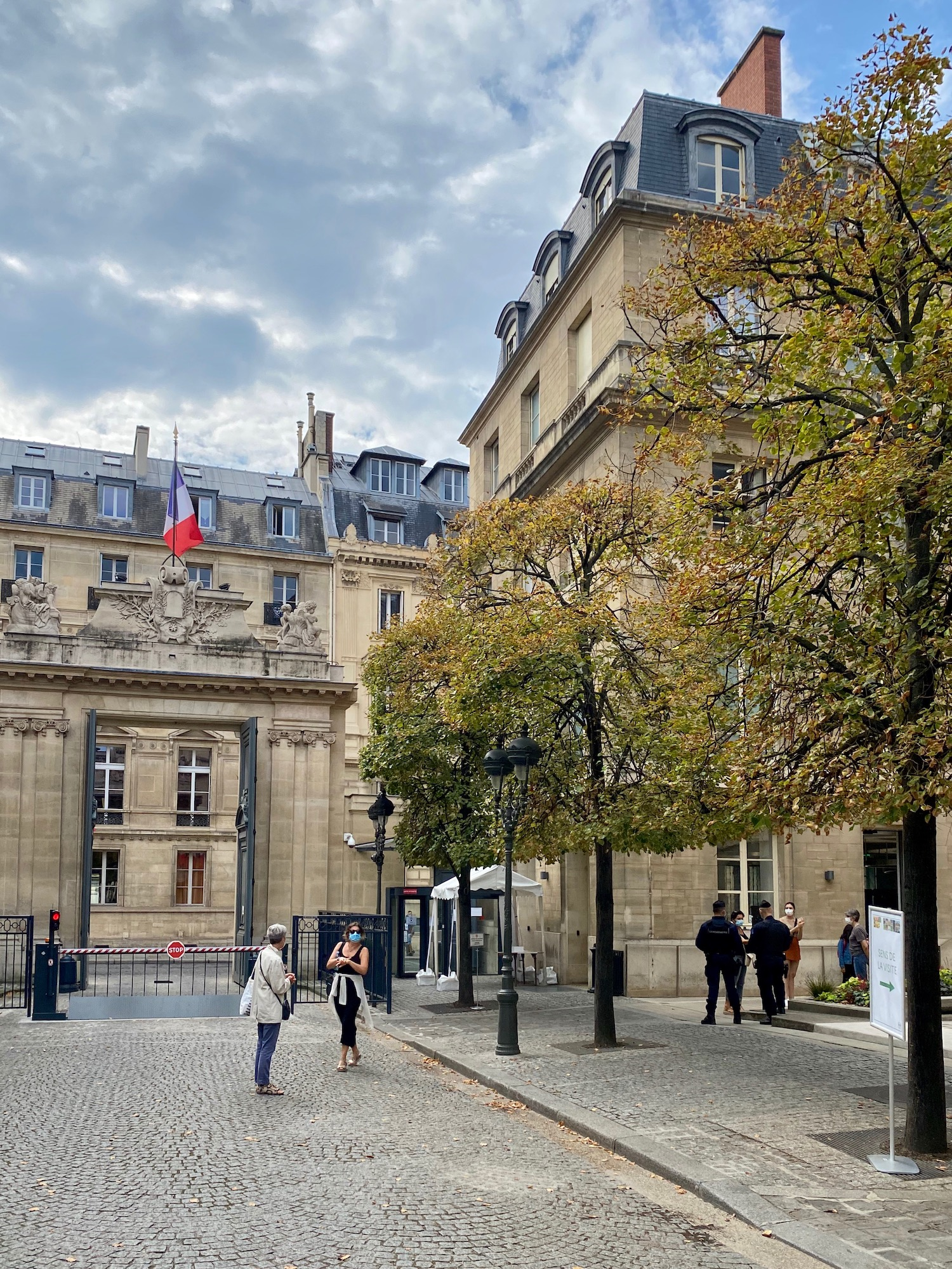 September in Paris