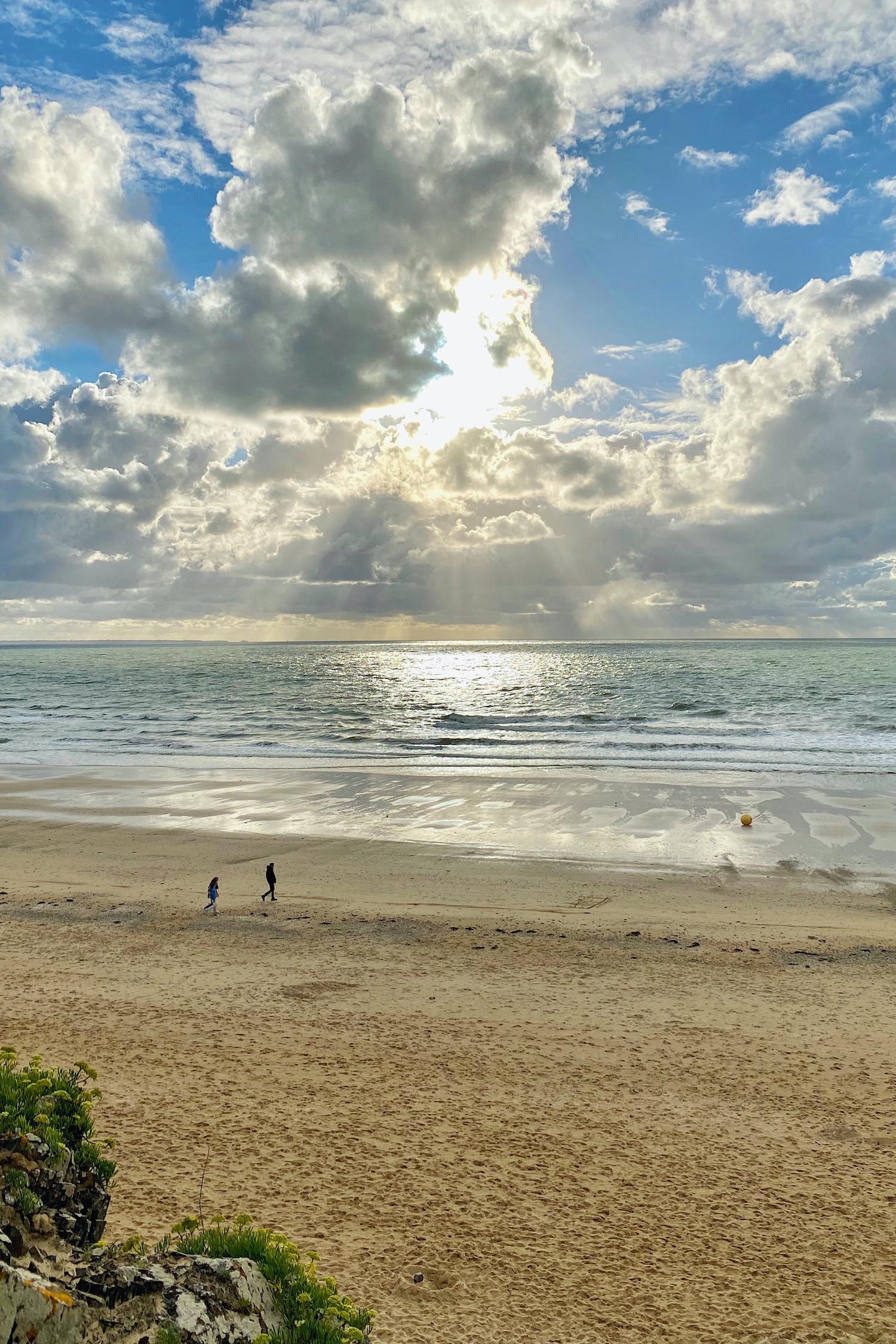 Still in Normandy Carolles beach
