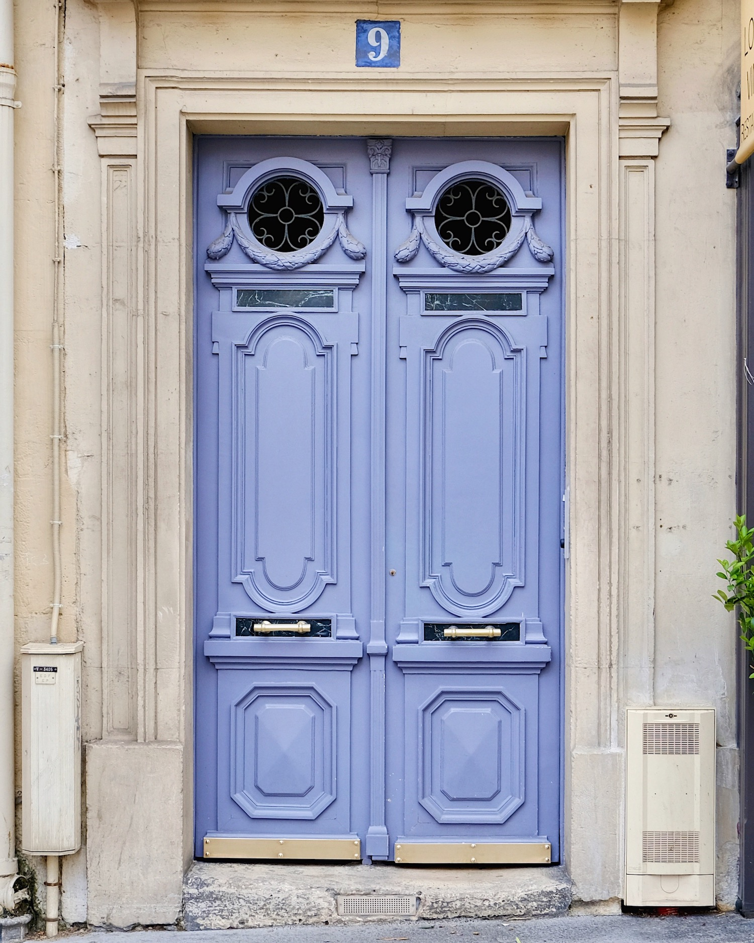Paris Purple Door