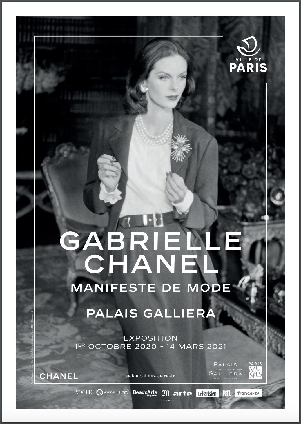 Gabrielle Chanel Exhibit Paris