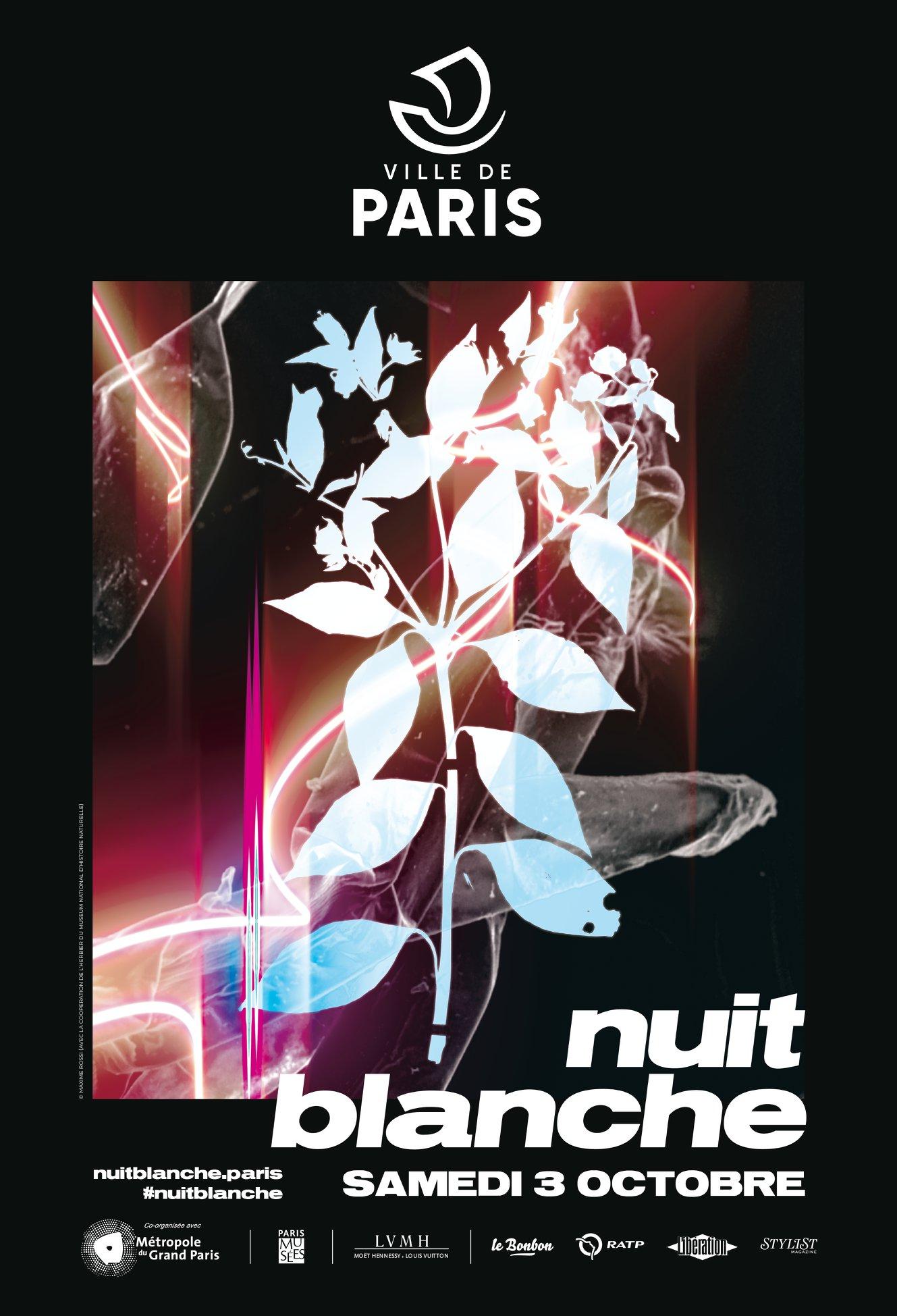 Nuit Blanche October in Paris