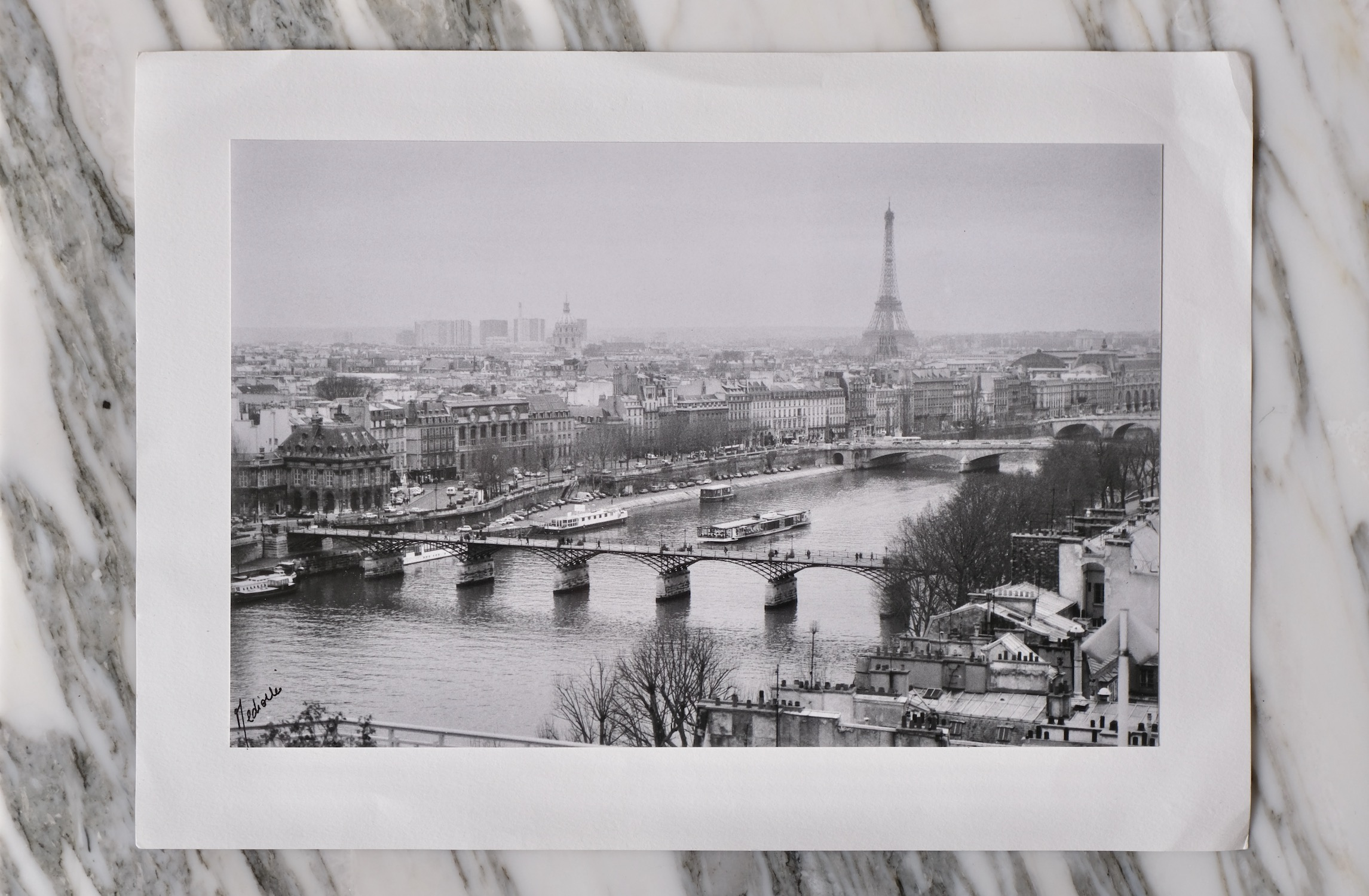 Paris original silver print photograph