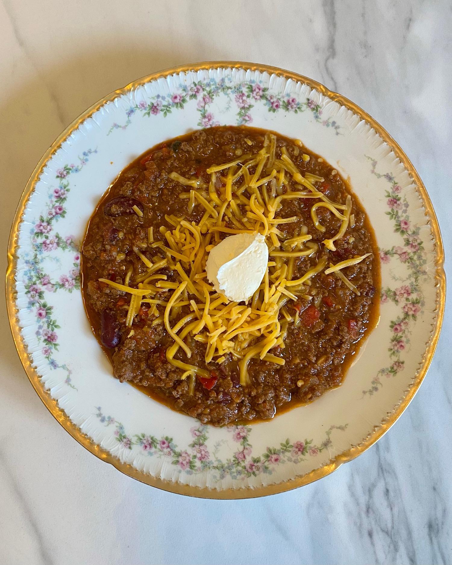 the best damn chili recipe
