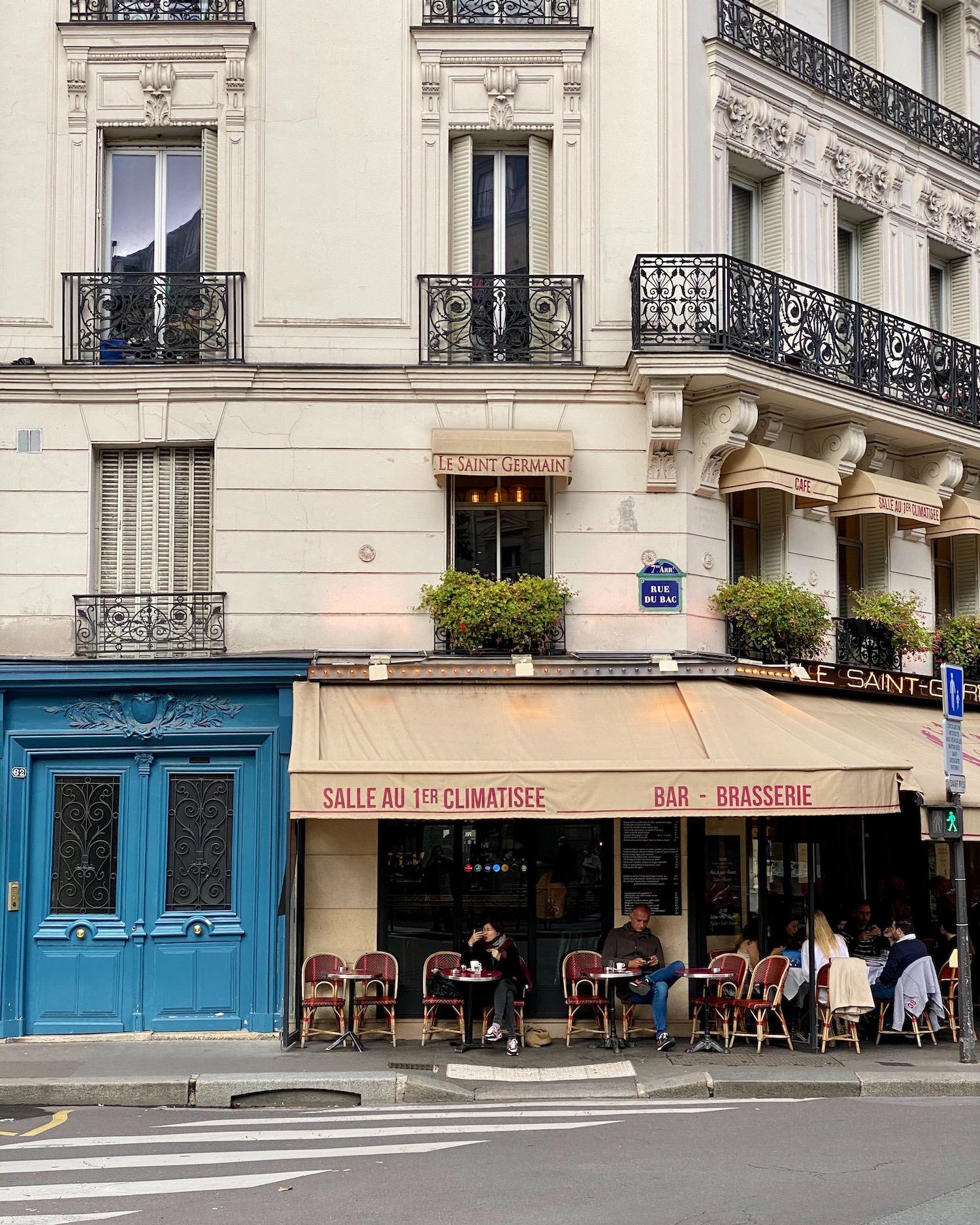 Le saint germain paris cafe