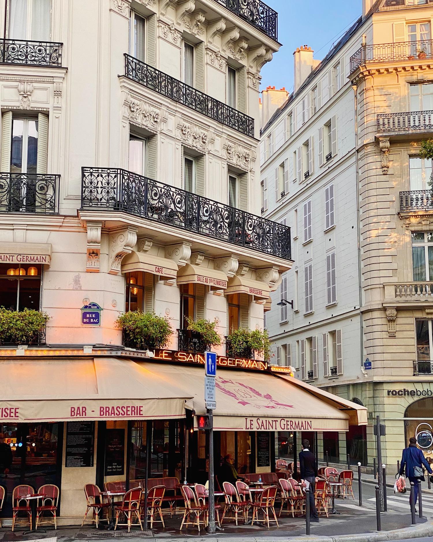 Le Saint Germain + the best margarita in Paris from le voltaire's cocktail menu + la grande épicerie's pumpkin pie recipe