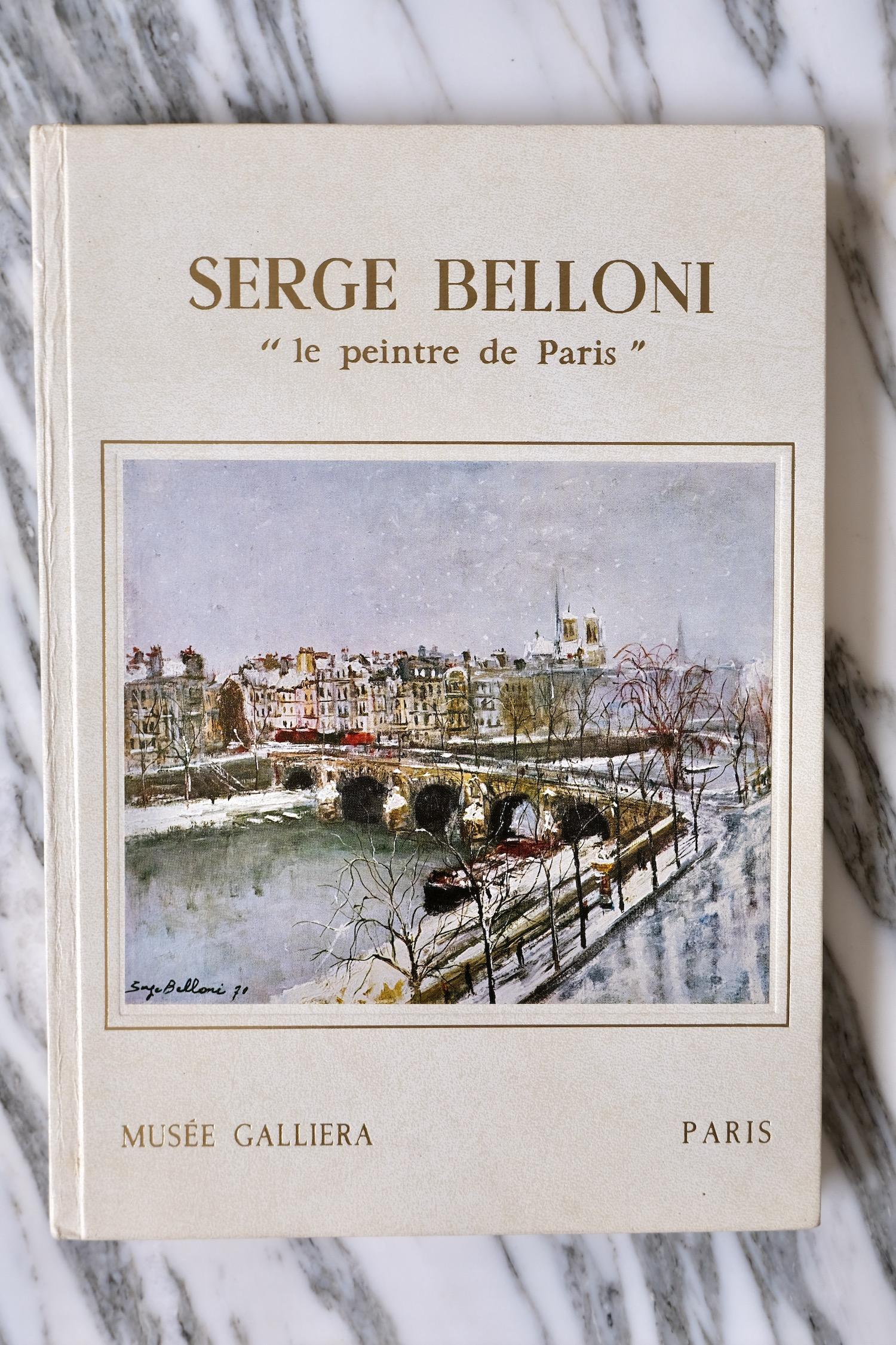 Serge Belloni book