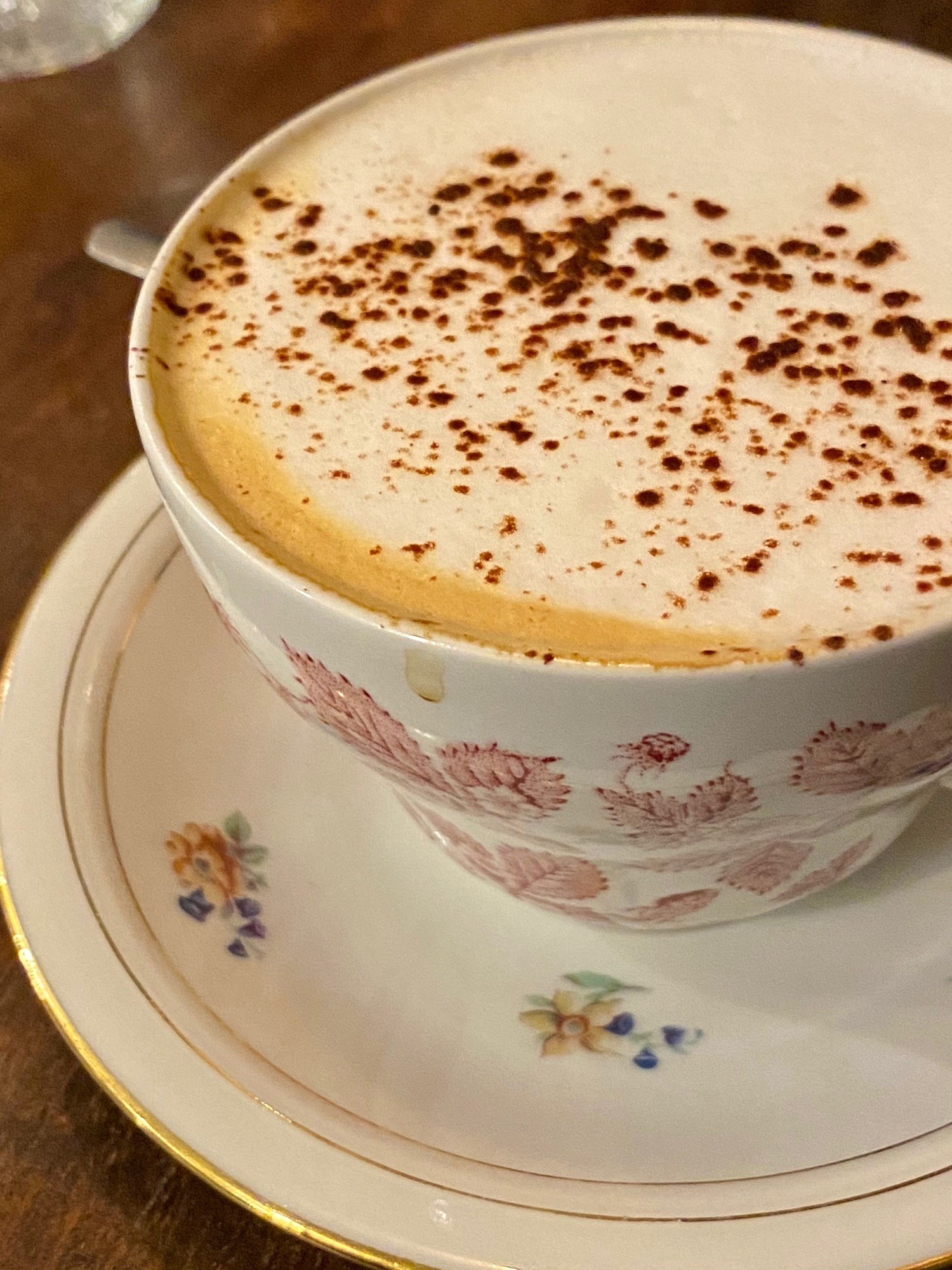 Treize au Jardin cappuccino