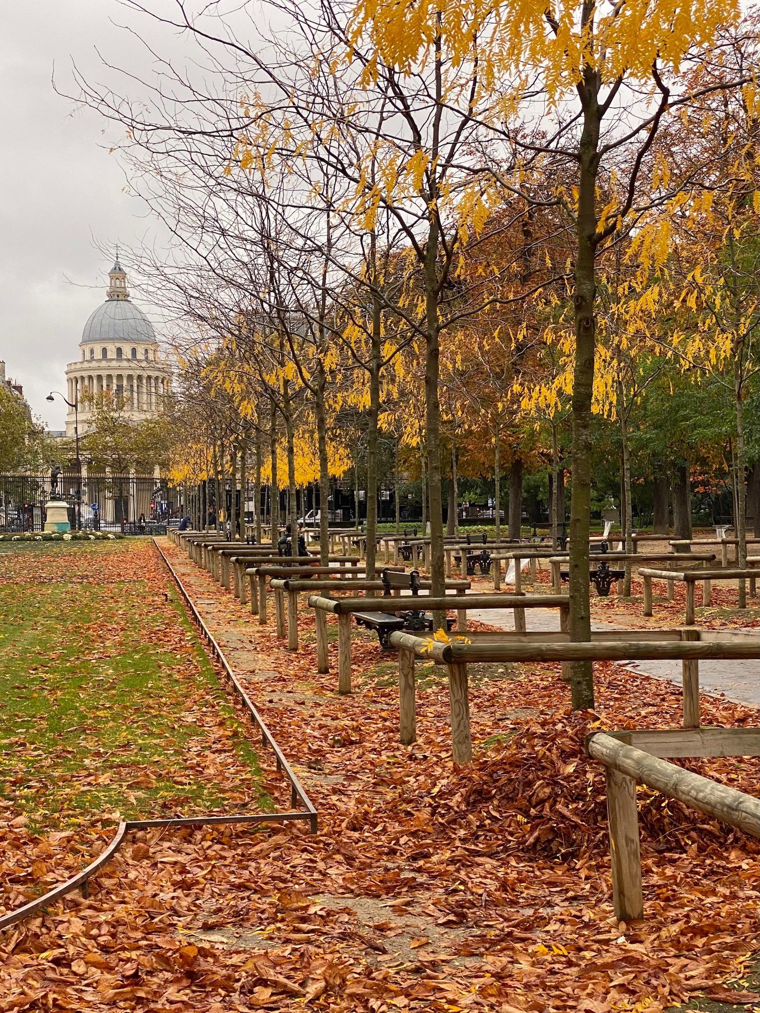 Pantheon view fall