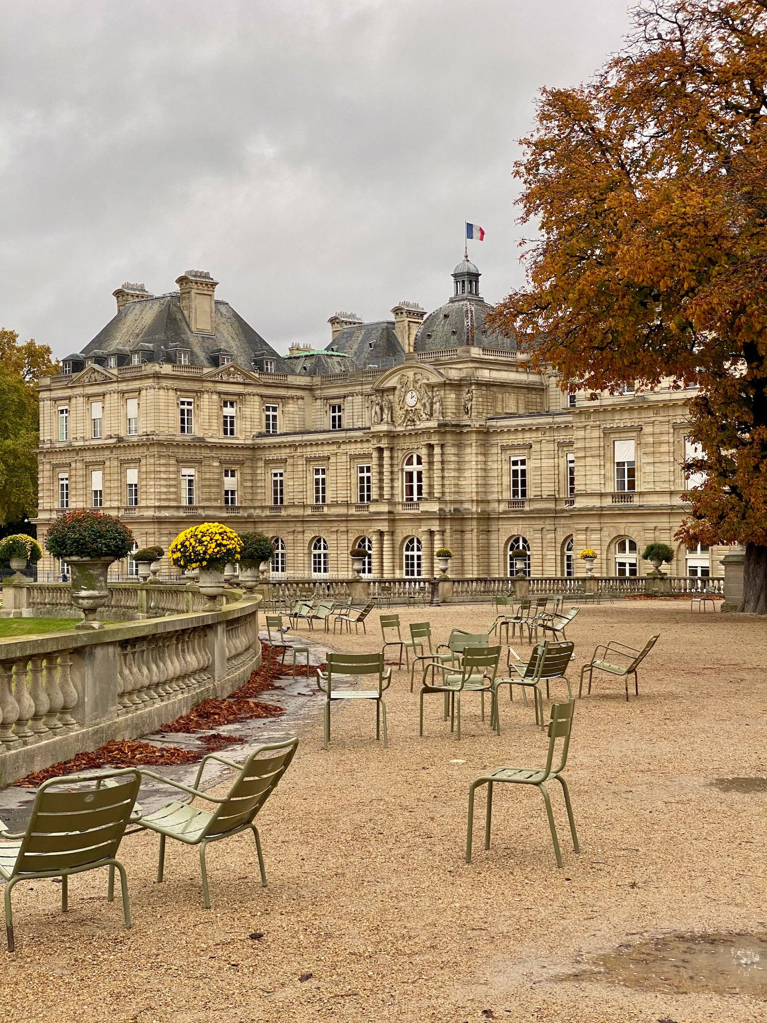 A Walk through the Jardin du Luxembourg in the Fall