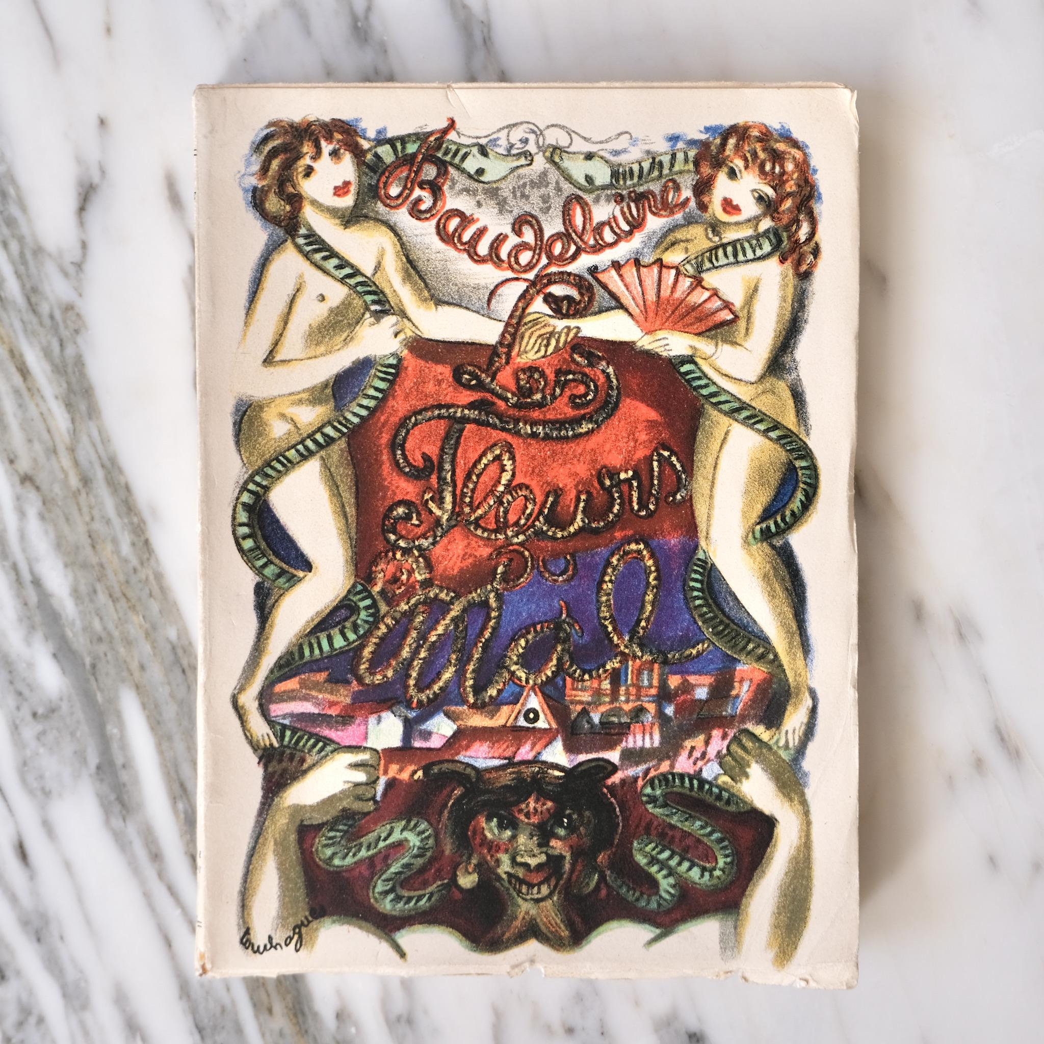 Baudelaire's 'Les Fleurs du Mal' 1949 edition