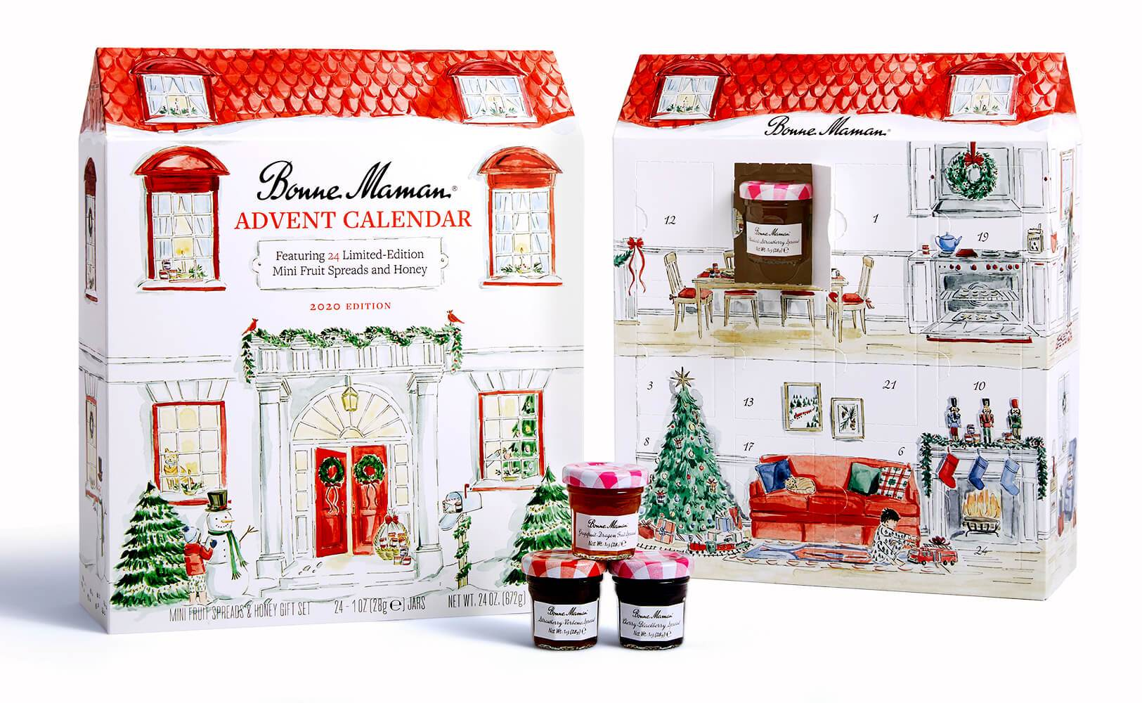 French Advent Calendars Available online 2020 Bonne Maman