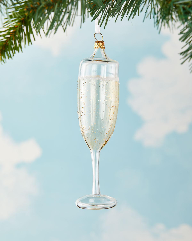 champagne ornament