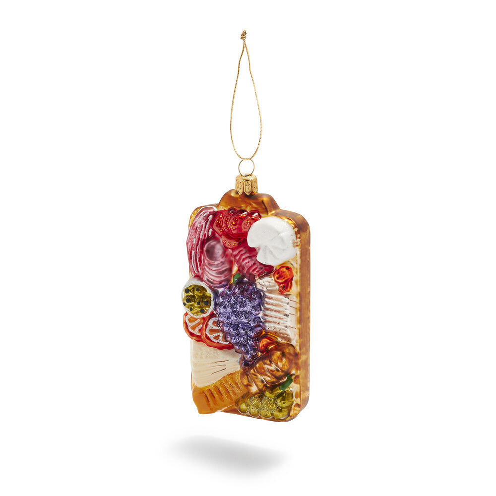 charcuterie french christmas ornament
