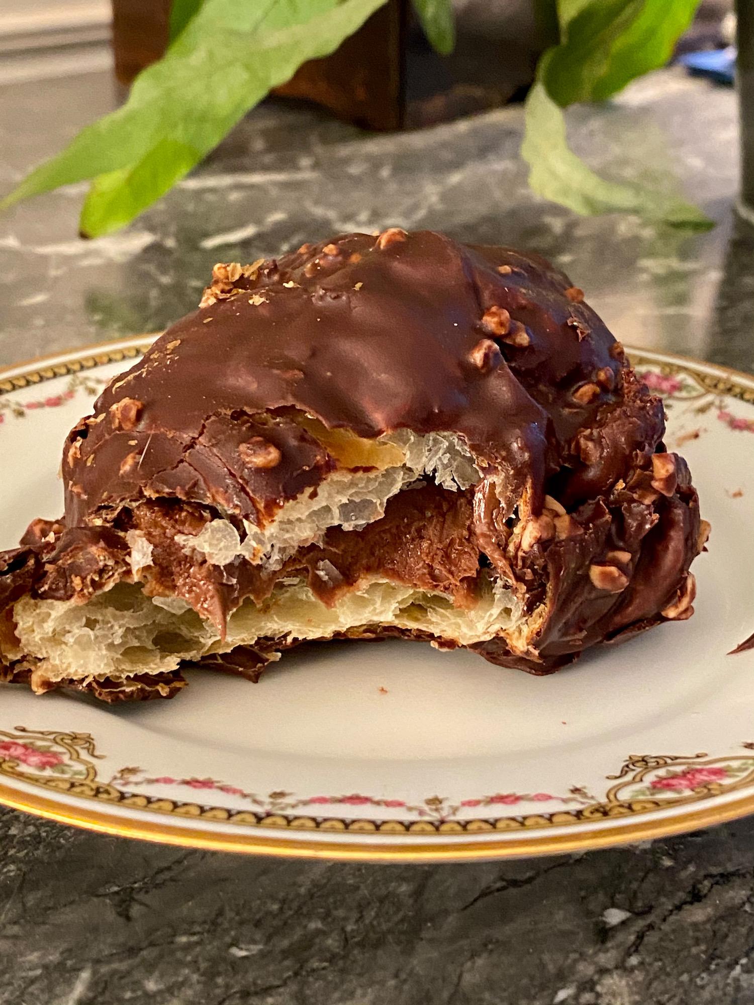 Chez Meunier chocolate croissant