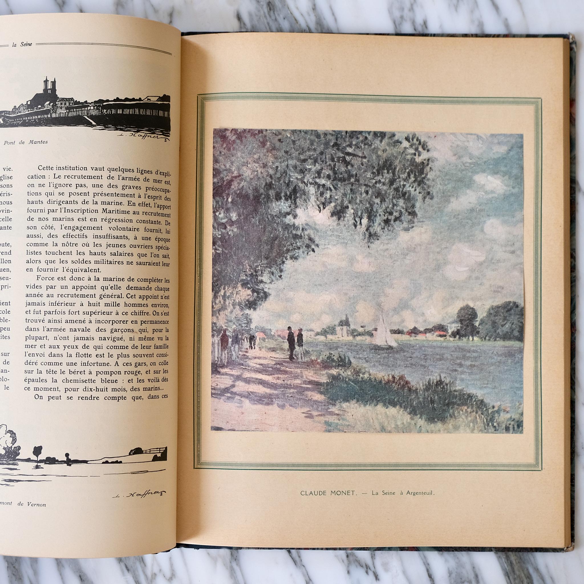 La Seine Croquis & Souvenirs book