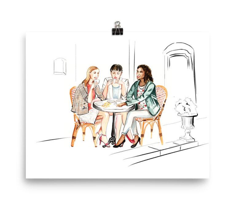 Francophile Gift Ideas Bright Lights Paris Print Shop