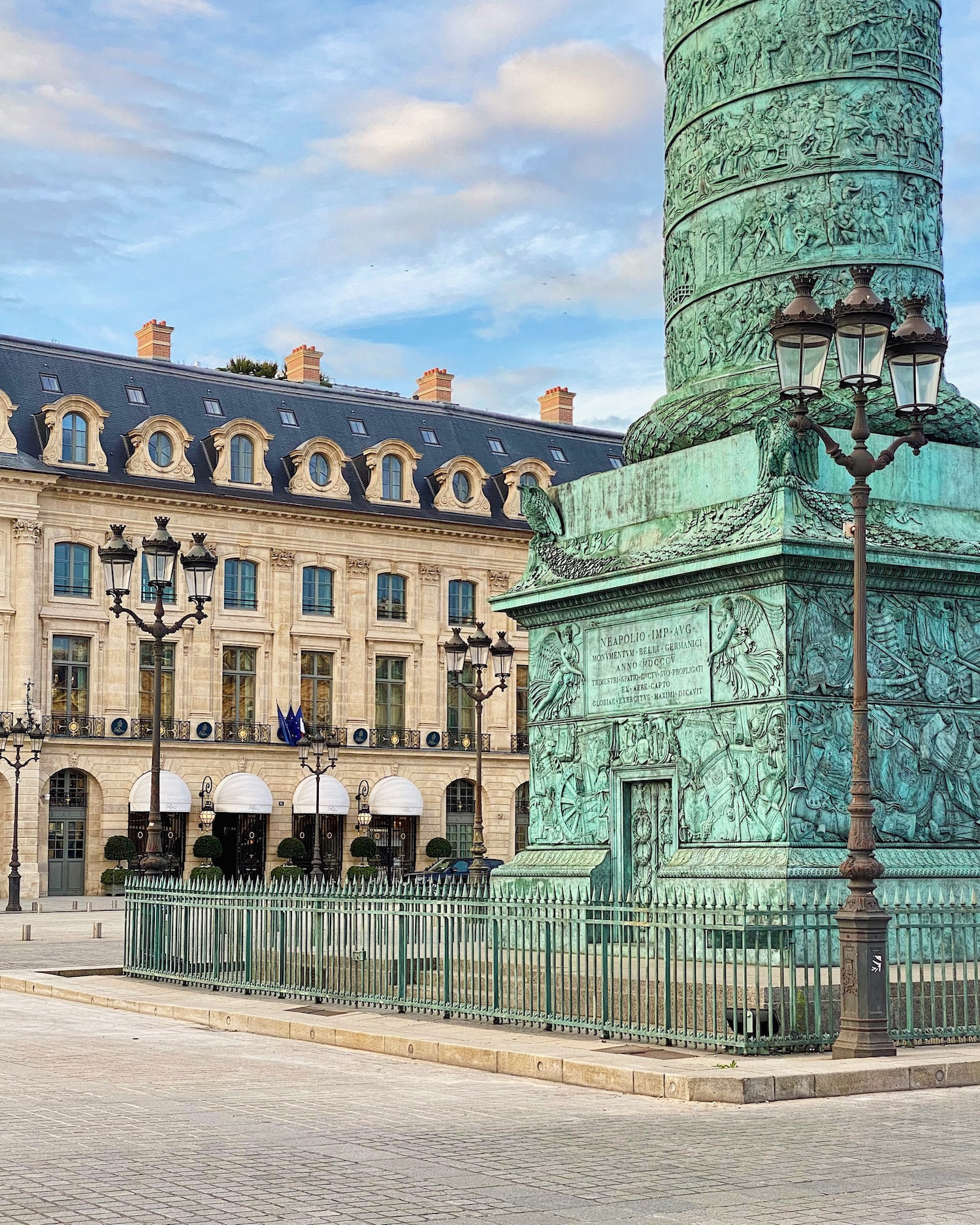 place vendôme weekend links week 23
