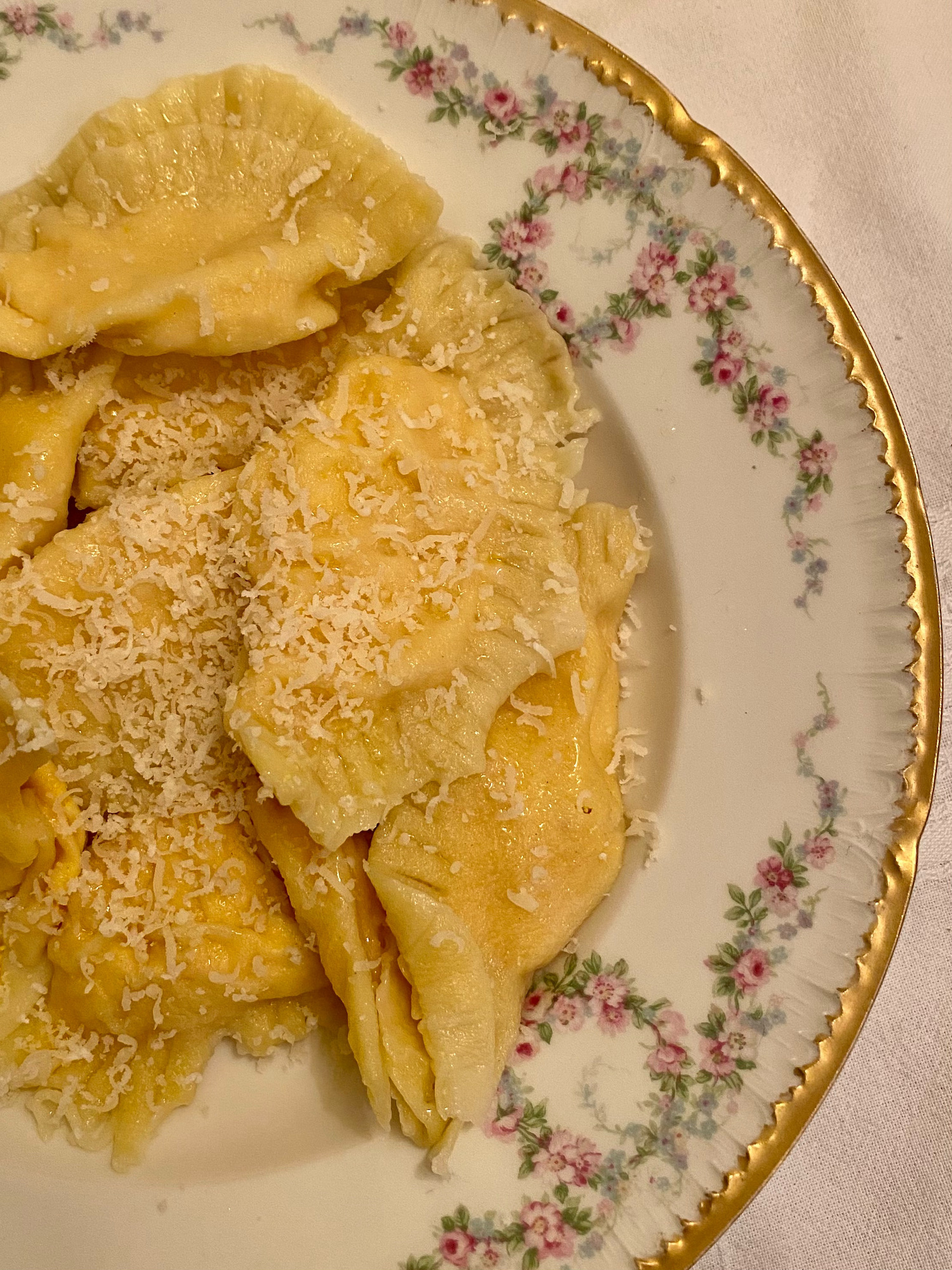 Pumpkin Ricotta Ravioli recipe