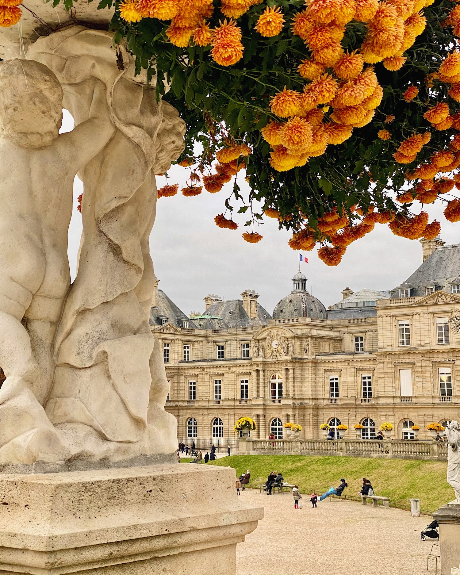 thanksgiving in paris 2020 jardin du luxembourg
