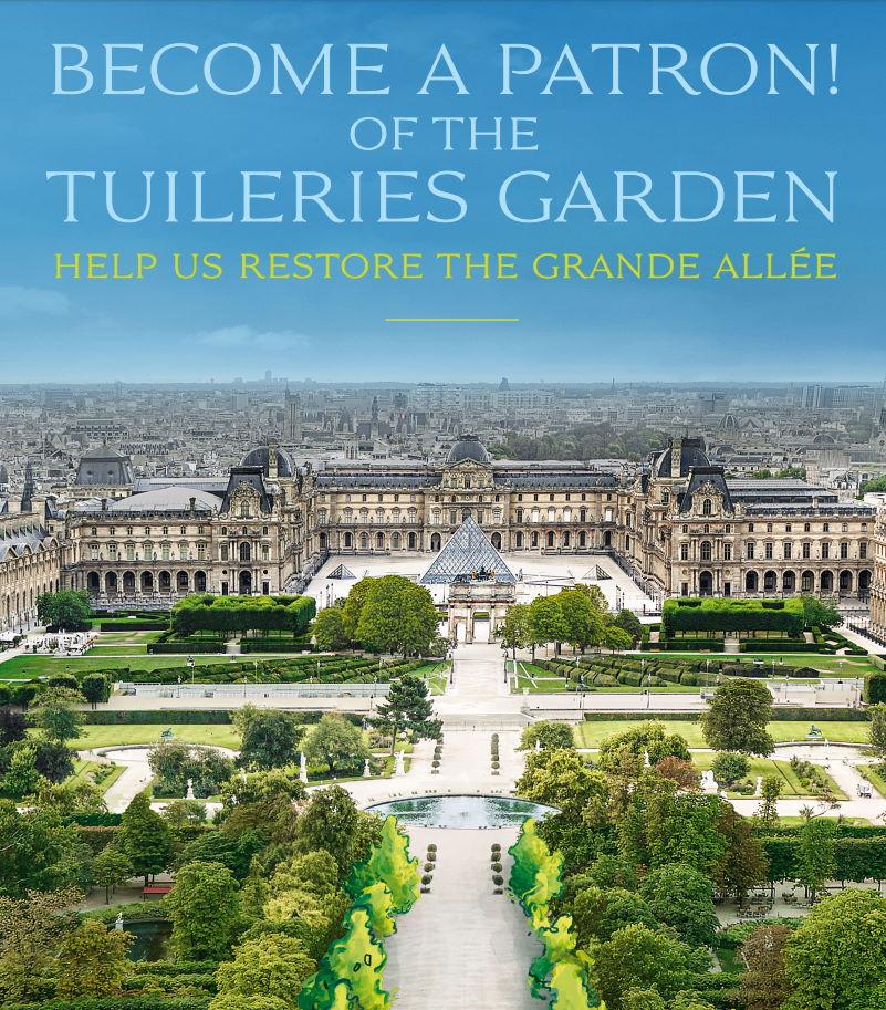 Tuileries Bench sponsorship